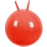 """Мяч Прыгун с рожками, 50 cм, красный, """"МалышОК"""""""