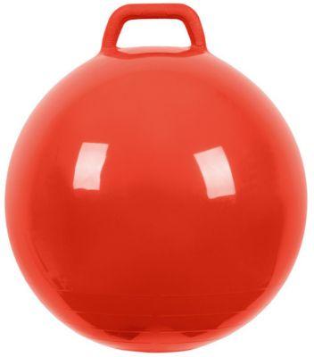 """Мяч Прыгун с ручкой, 50 см, красный, """"МалышОК"""""""