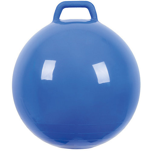 """Мяч Прыгун с ручкой, 50 см, синий, """"МалышОК"""" от Малышок"""