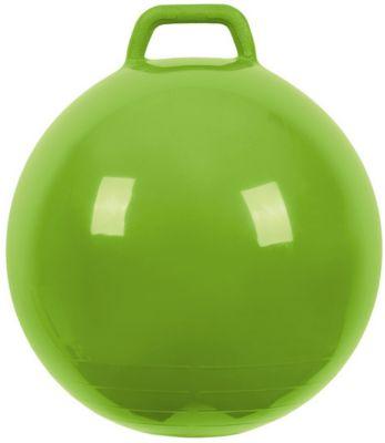 """Мяч Прыгун с ручкой, 50 см, зеленый, """"МалышОК"""""""