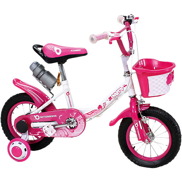 actionbikes kinderfahrrad daisy 12 zoll pink mytoys. Black Bedroom Furniture Sets. Home Design Ideas