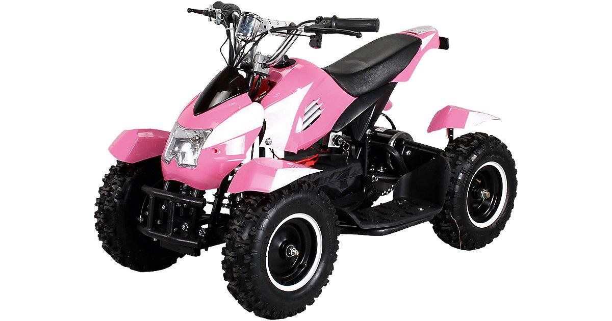 Miniquad Cobra Elektro 800, pink/weiß