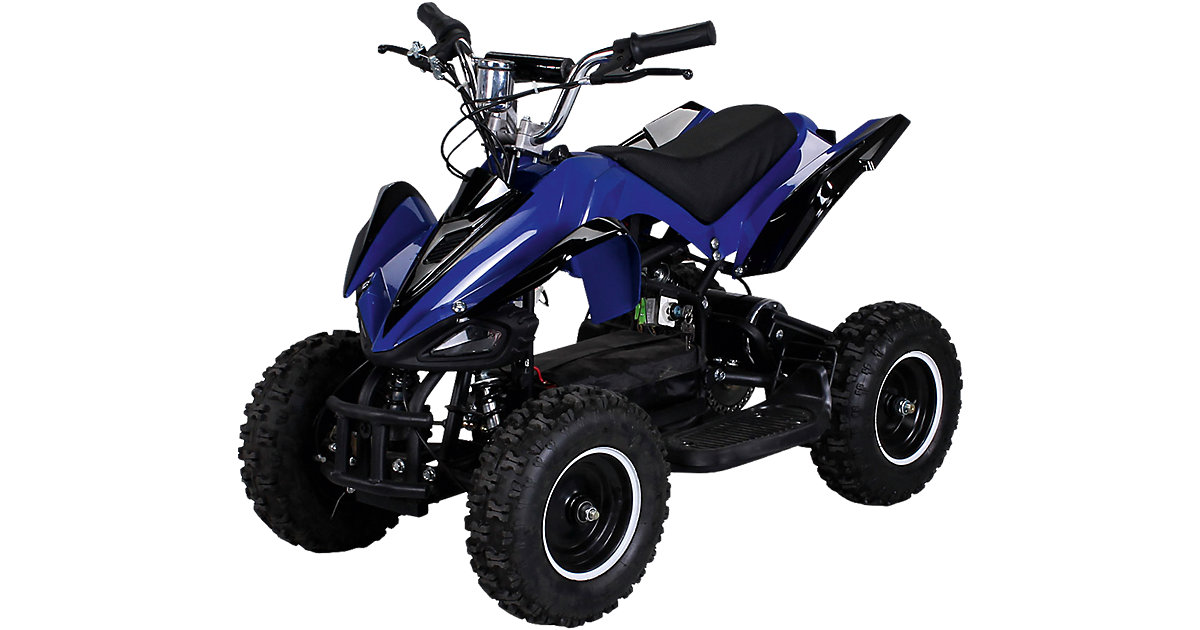 Miniquad Racer 800 Elektro, blau/schwarz