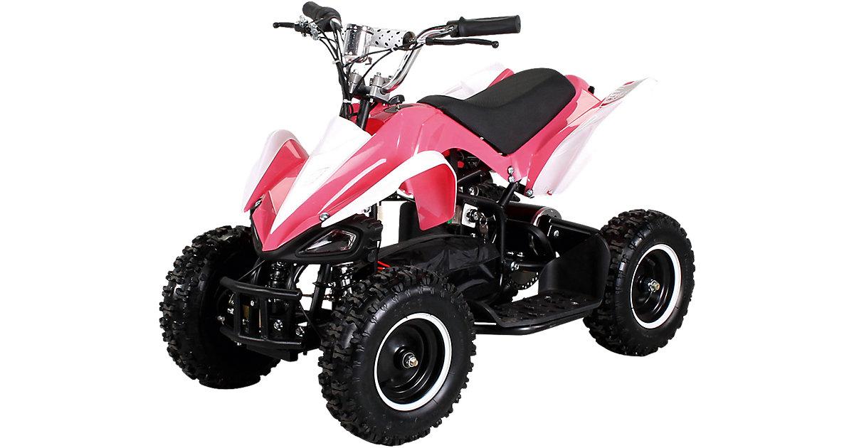 Miniquad Racer 800 Elektro, pink/weiss