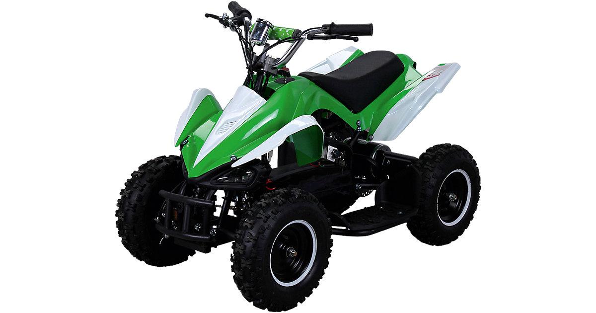 Miniquad Racer 800 Elektro, grün/weiss