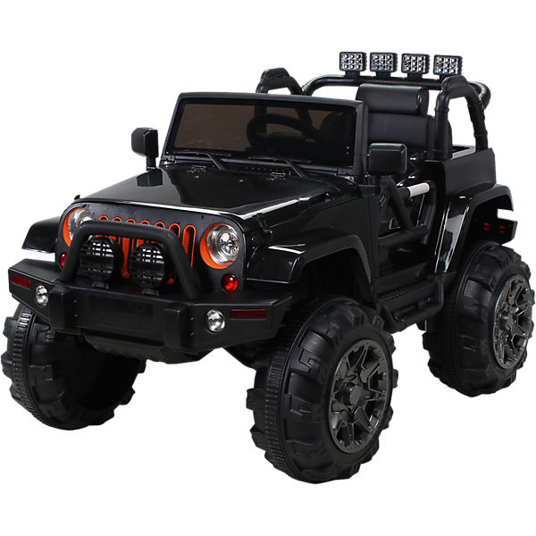 kinder elektroauto offroad jeep adventure 2 x 35 watt schwarz mytoys. Black Bedroom Furniture Sets. Home Design Ideas