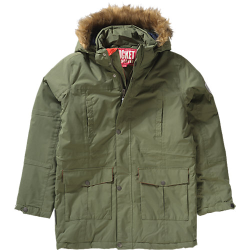TICKET TO HEAVEN Winterparka Maron Gr. 128 Jungen Kinder | 04050744838212