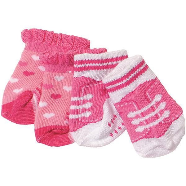 Носочки BABY born, 2 пары, розовые