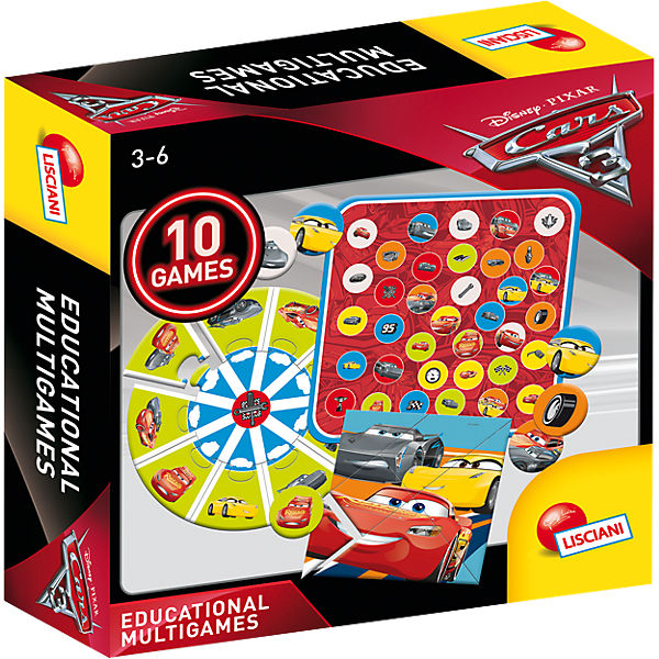 10 Spiele - Cars 3