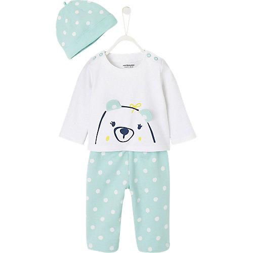 Baby Set Mütze + Langarmshirt + Sweathose Gr. 68 Jungen Baby | 03611652292469
