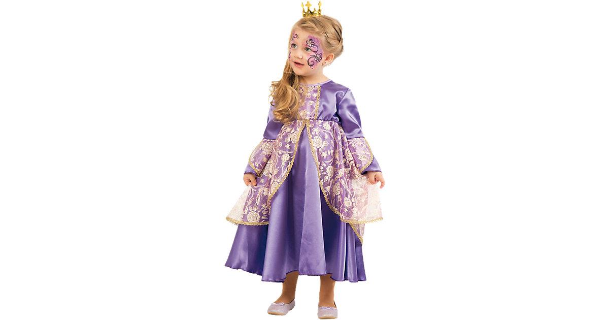 Kostüm Kleine Prinzessin lila Gr. 92 Mädchen Kleinkinder
