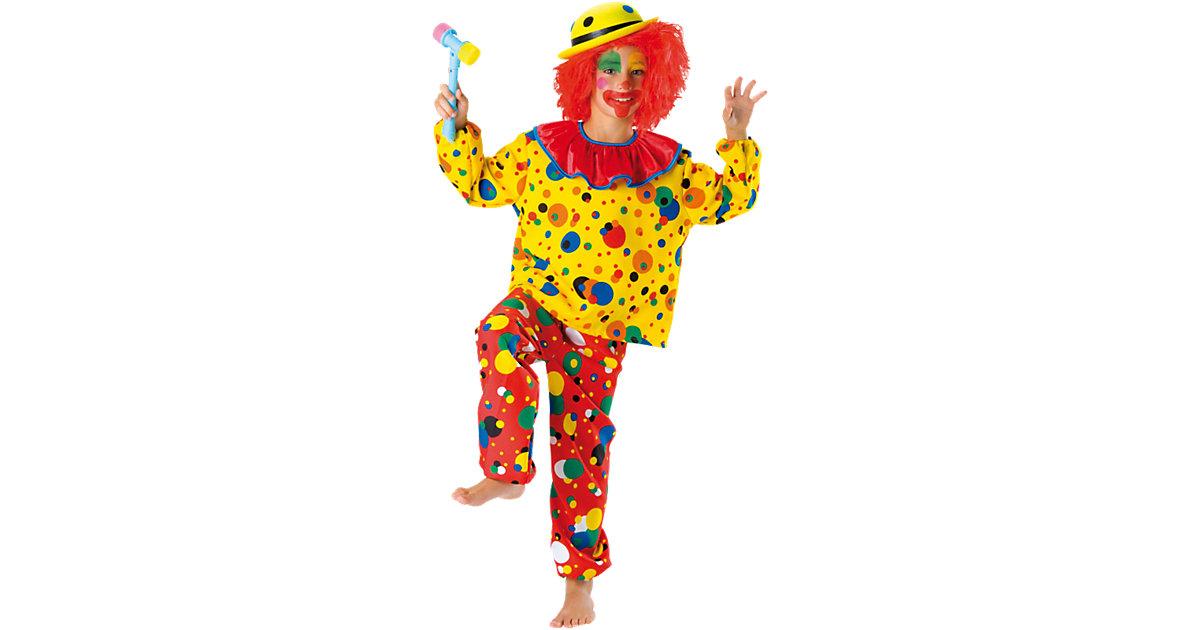 Kostüm Clown Jupp, 2-tlg. Gr. 104