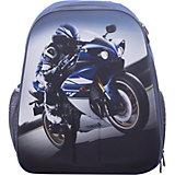 Рюкзак школьный каркасный Мотогонщик