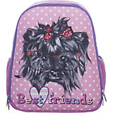 Рюкзак школьный каркасный Собачка