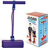 Тренажер для прыжков со звуком , фиолетовый, Moby Kids