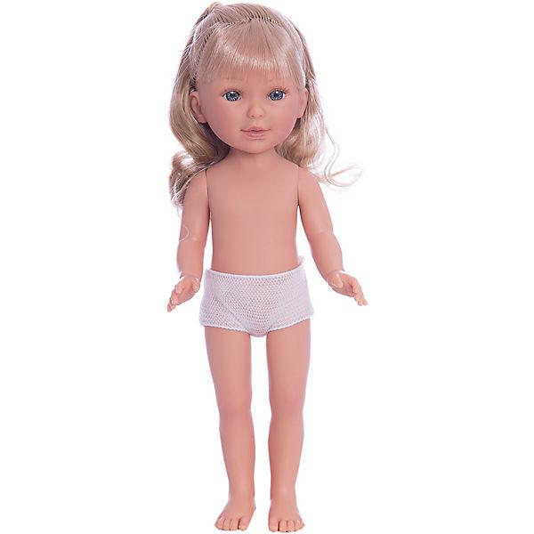Кукла Паулина, блондинка волнистые волосы, Vestida de Azul