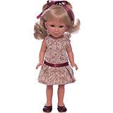 Кукла Паулина, блондинка волнистые волосы, Лето Классика, Vestida de Azul