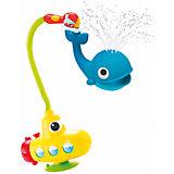 """Игрушка водная душ """"Подводная лодка и Кит"""", Yookidoo"""