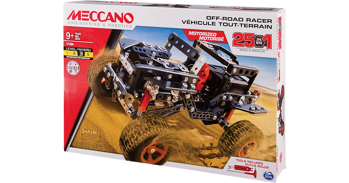 Meccano 25 Modell Set - Offroad Race car