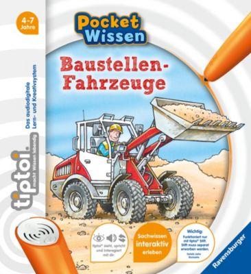 Buch - tiptoi® Pocket Wissen: Baustellen-Fahrzeuge
