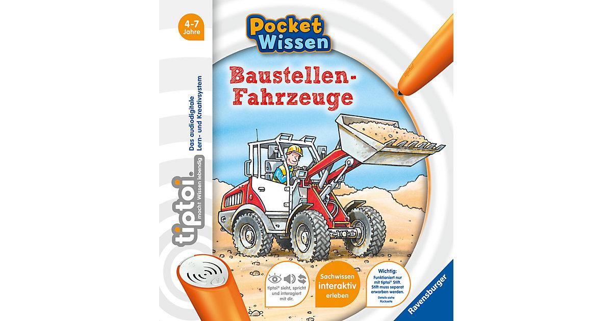 tiptoi® Pocket Wissen: Baustellen-Fahrzeuge