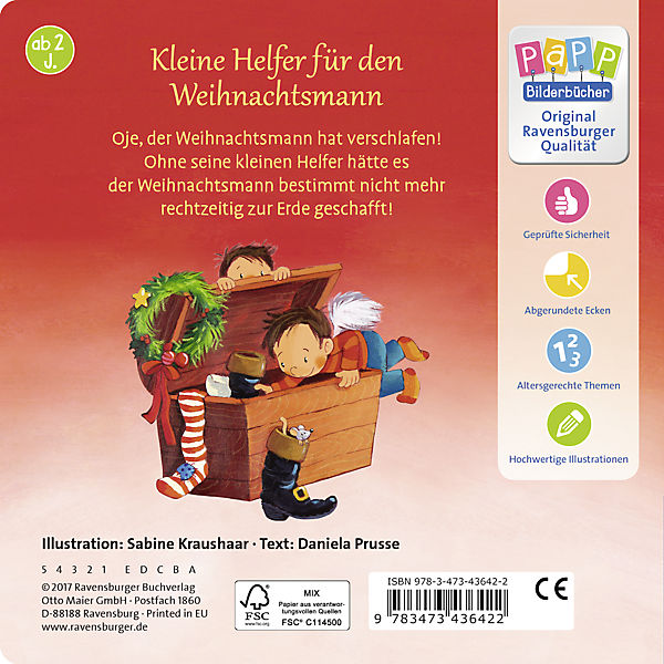 Wach lieber auf, lieber Wach Weihnachtsmann!, Daniela Prusse d8ef50