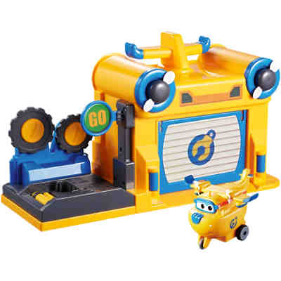 Super Wings Hangar Spielset Donnie