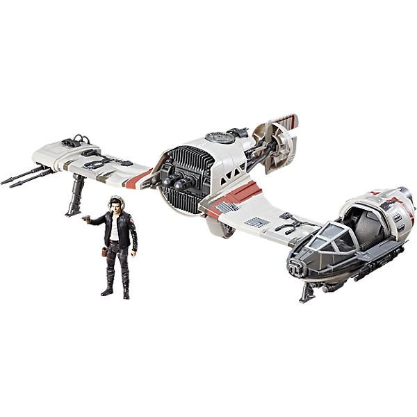 Star Wars Episode 8 Forcelink Ski Speeder mit Figur