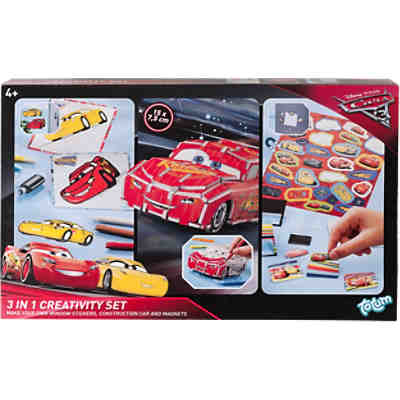 Cars 3 - 3 in1 Kreativset