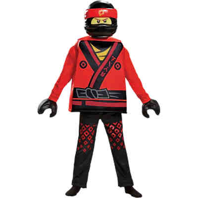Kostüm LEGO Ninjago Movie Deluxe, 5-tlg.