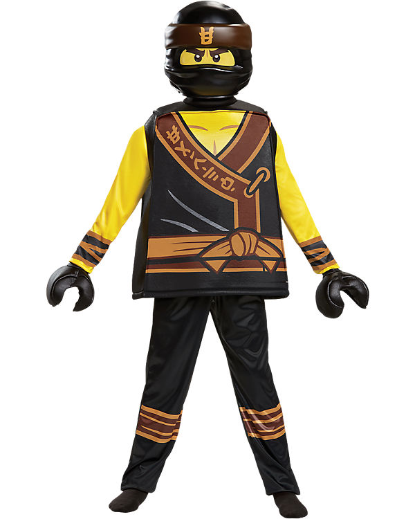 Kostüm Lego Ninjago Cole Movie Deluxe 5 Tlg Lego Ninjago