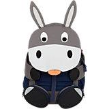 Рюкзак детский Affenzahn Don Donkey, основной цвет серый