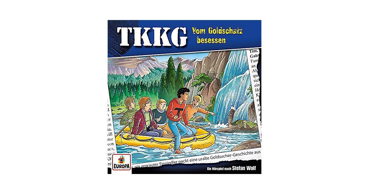 CD TKKG 201 - Vom Goldschatz besessen Hörbuch