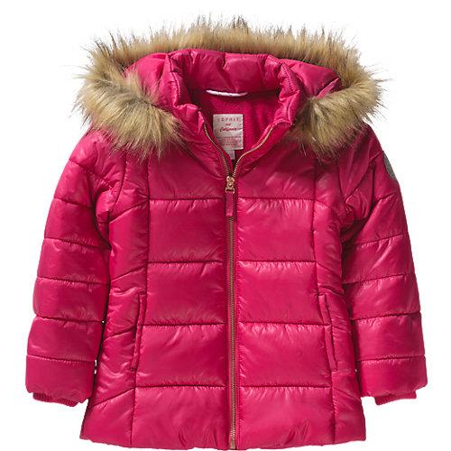 Esprit Winterjacke mit Kapuze Gr. 92/98 Mädchen Kleinkinder   03663760616200