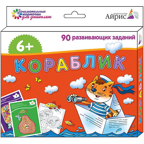 """Набор занимательных карточек для дошколят """"Кораблик"""""""