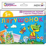 """Набор занимательных карточек для дошколят """"Лягушонок"""""""