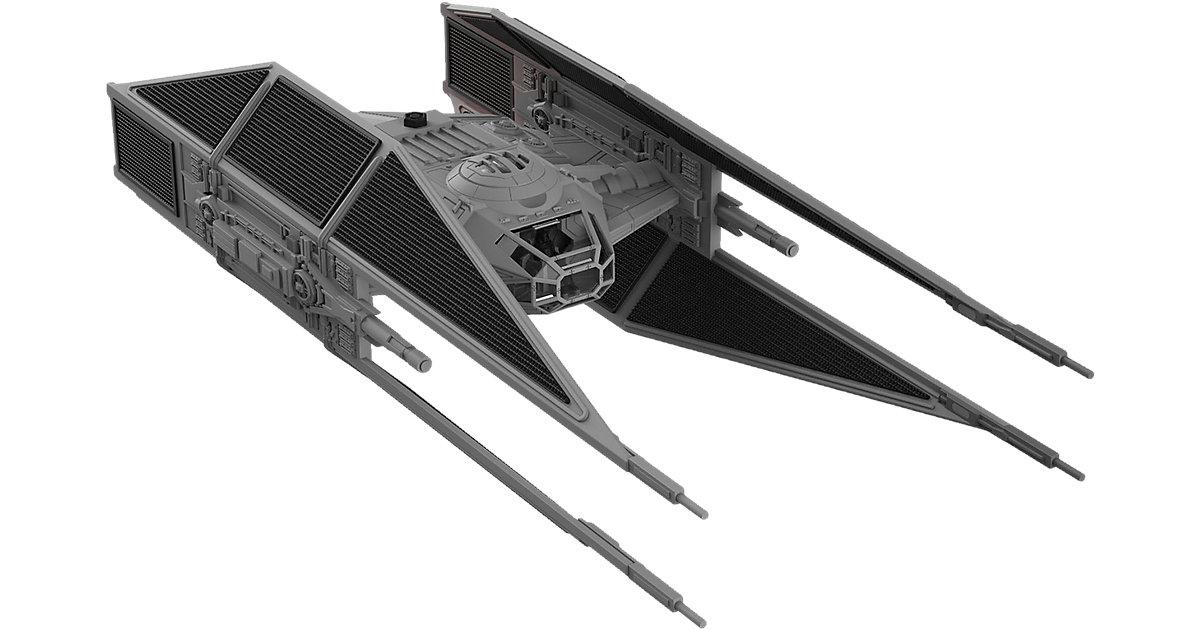 Revell Modellbausatz Build & Play - Star Wars Kylo Ren´s TIE Fighter