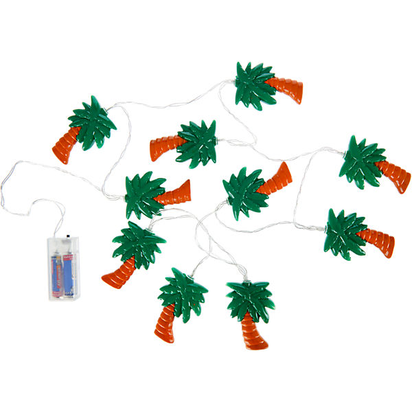 Lichterkette Palme 10 Leds 165m Batteriebetrieben Mytoys