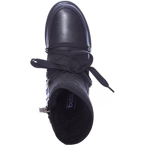 Утепленные сапоги Betsy - черный от Betsy