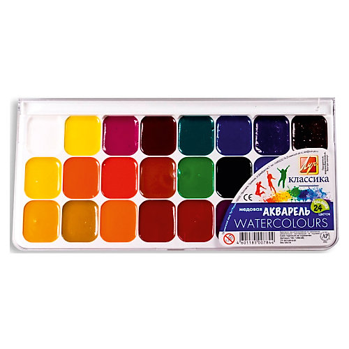 ЛУЧ Акварель 24 цвета от ЛУЧ