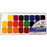 ЛУЧ Акварель 24 цвета