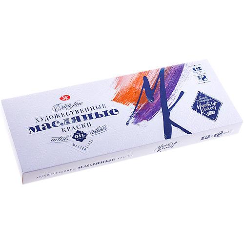 Краски масляные 12 цветов Мастер-Класс, 18мл/туба от Невская палитра
