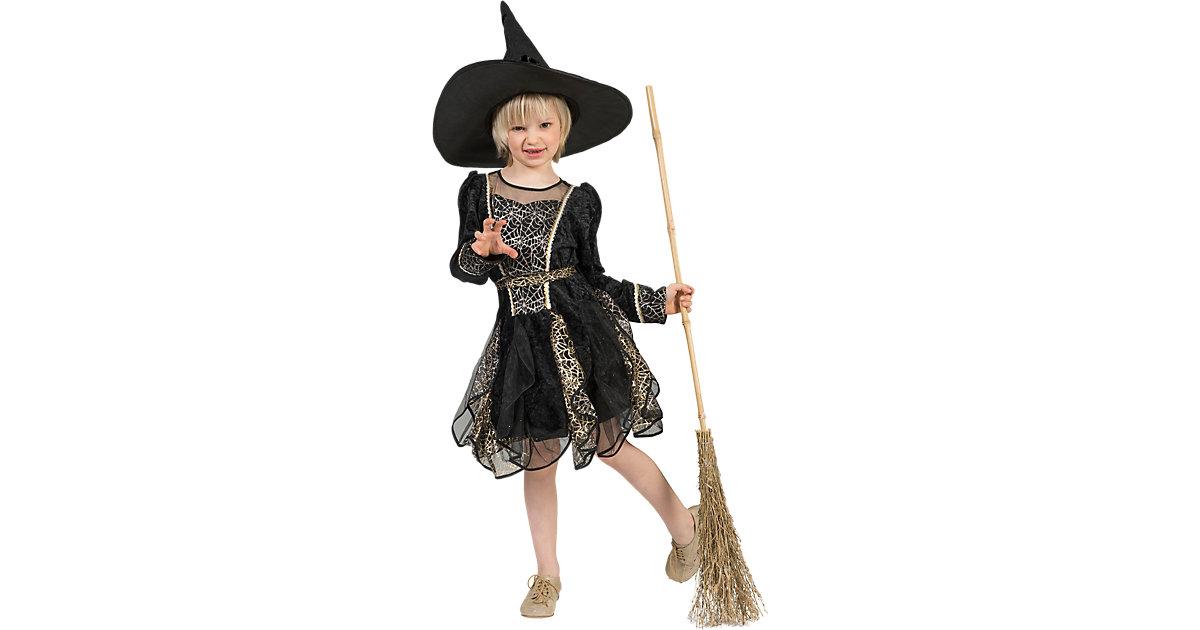 Kostüm Hexe Spinnennetz Gr. 104