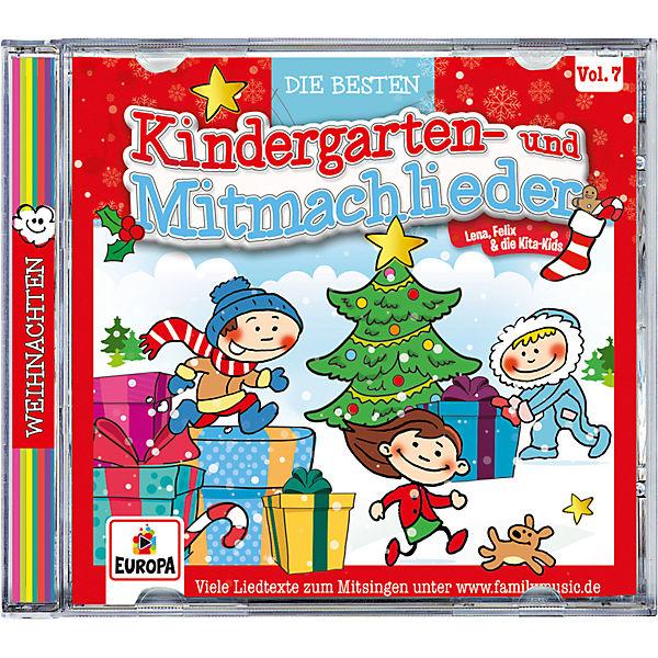 Kindergarten Weihnachten.Cd Die Besten Kindergarten Und Mitmachlieder Vol 7 Weihnachten Sony
