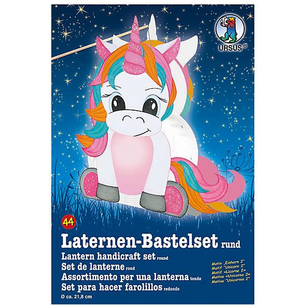 Laternen Bastelset Einhorn Ursus