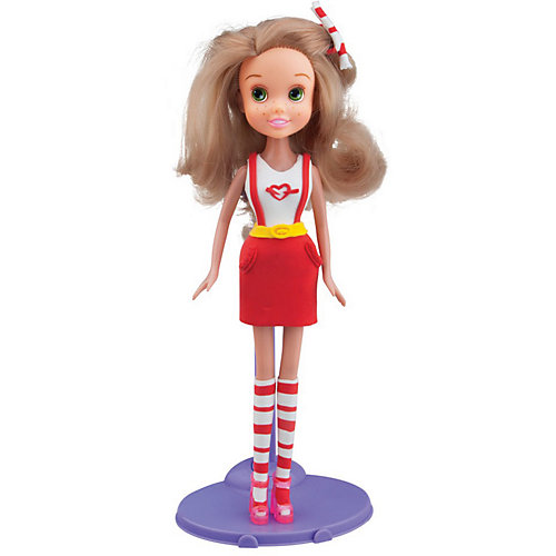 Набор для лепки с куклой Fashion Dough - Блондинка в красной юбке от TOY TARGET