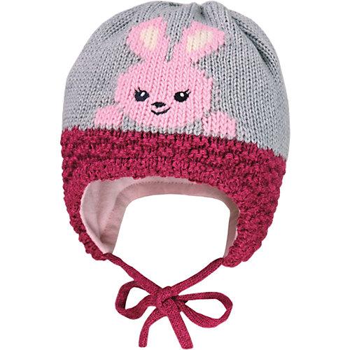 MaxiMo Baby Mütze zum Binden Gr. 51 Mädchen Kleinkinder - broschei
