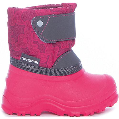 Сноубутсы для девочки Nordman - розовый от Nordman