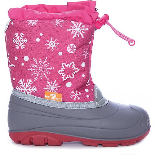 Сноубутсы Nordman Little One для девочки - розовый от Nordman