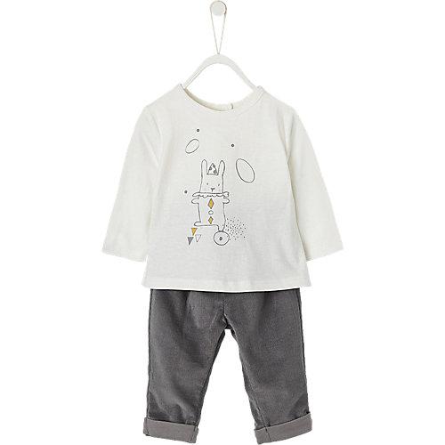 Baby Set Body + Cordhose Gr. 56 Jungen Baby   03611652392794